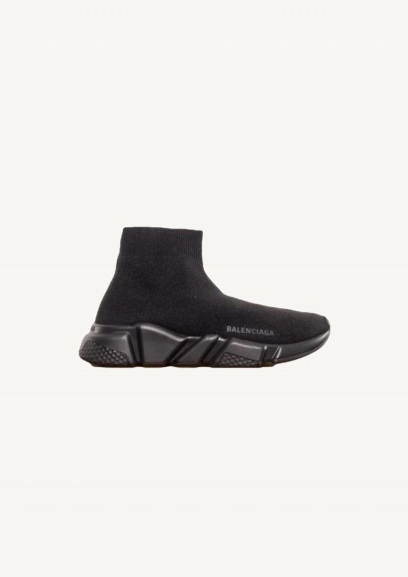 Sneakers Speed Trainer noires à logo noir