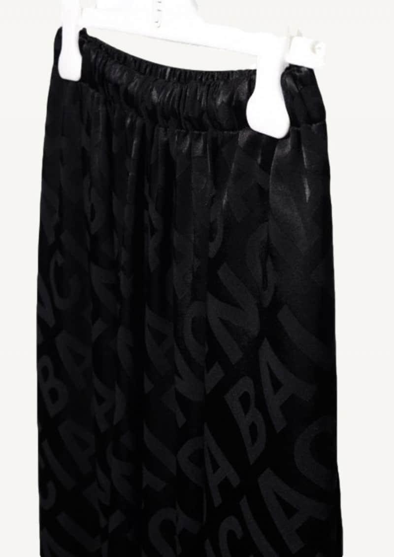 Black Allover Pants