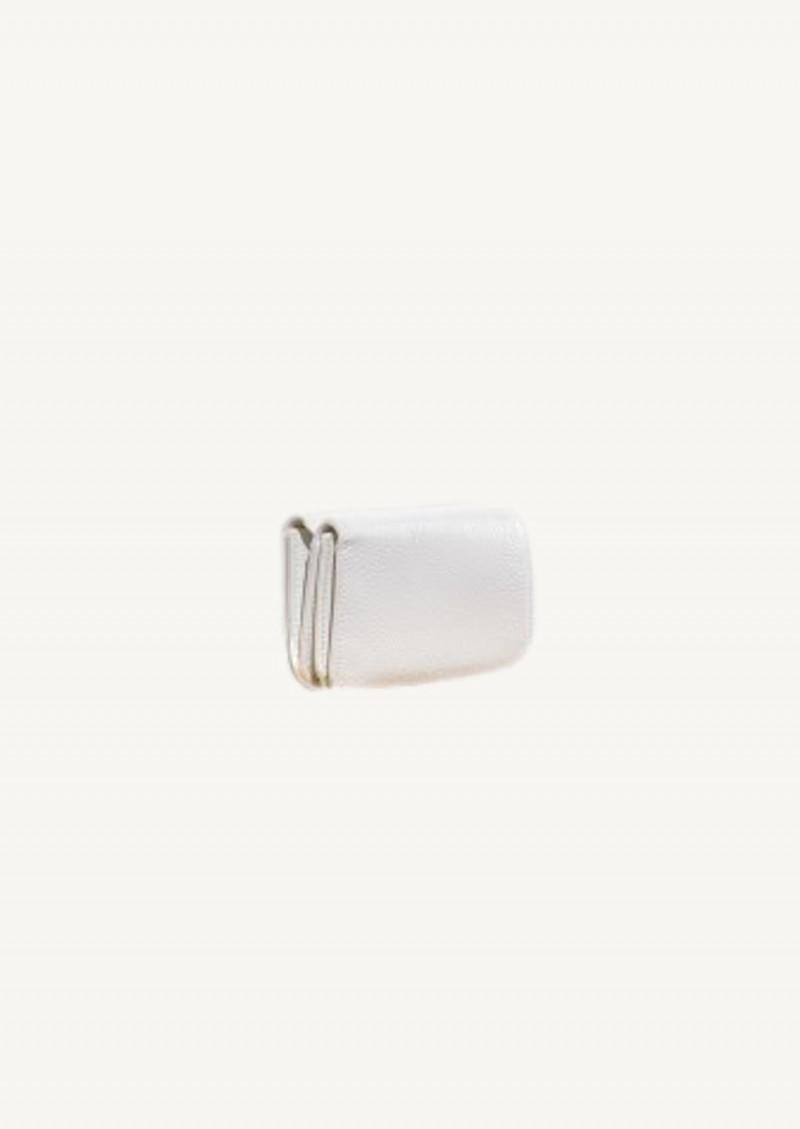 White and blak cash mini wallet