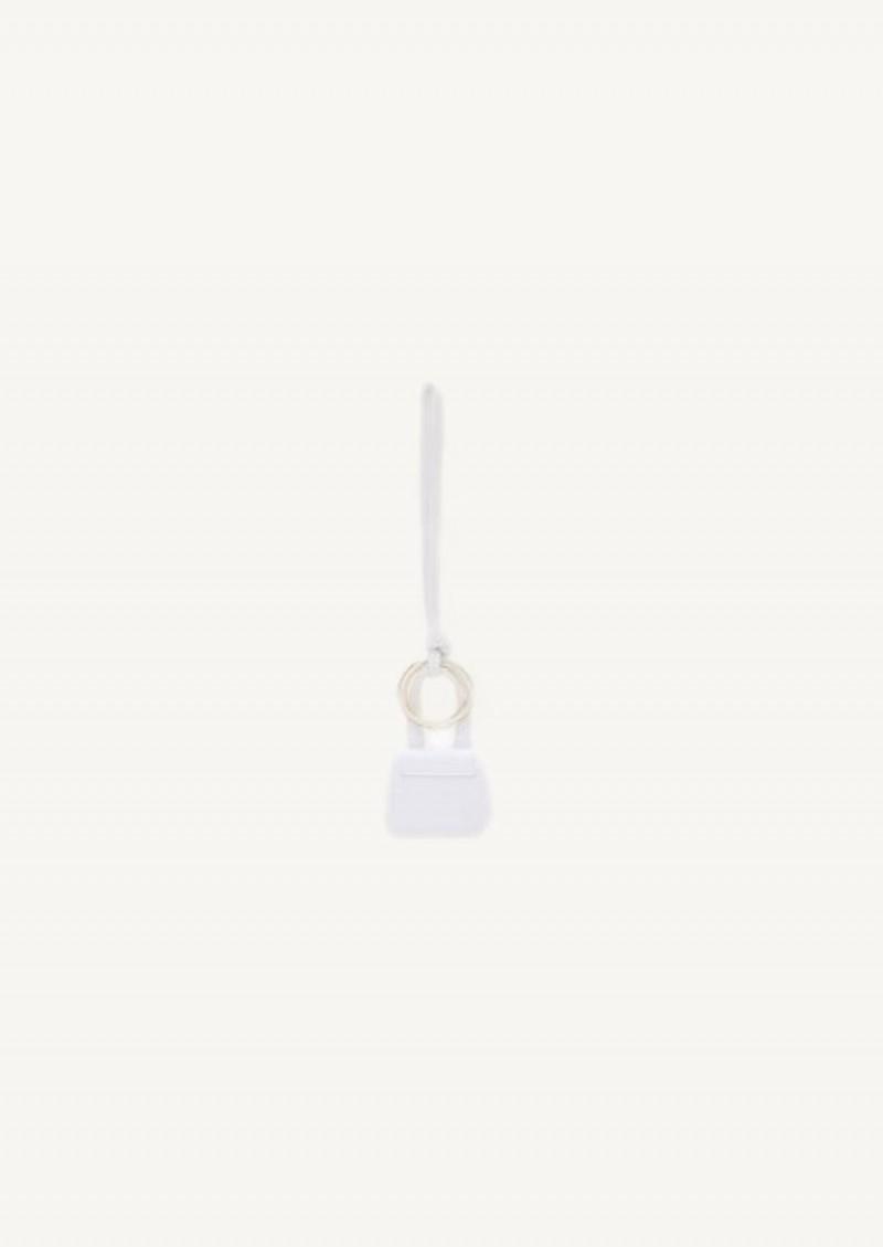 White Mini Chiquito keyring