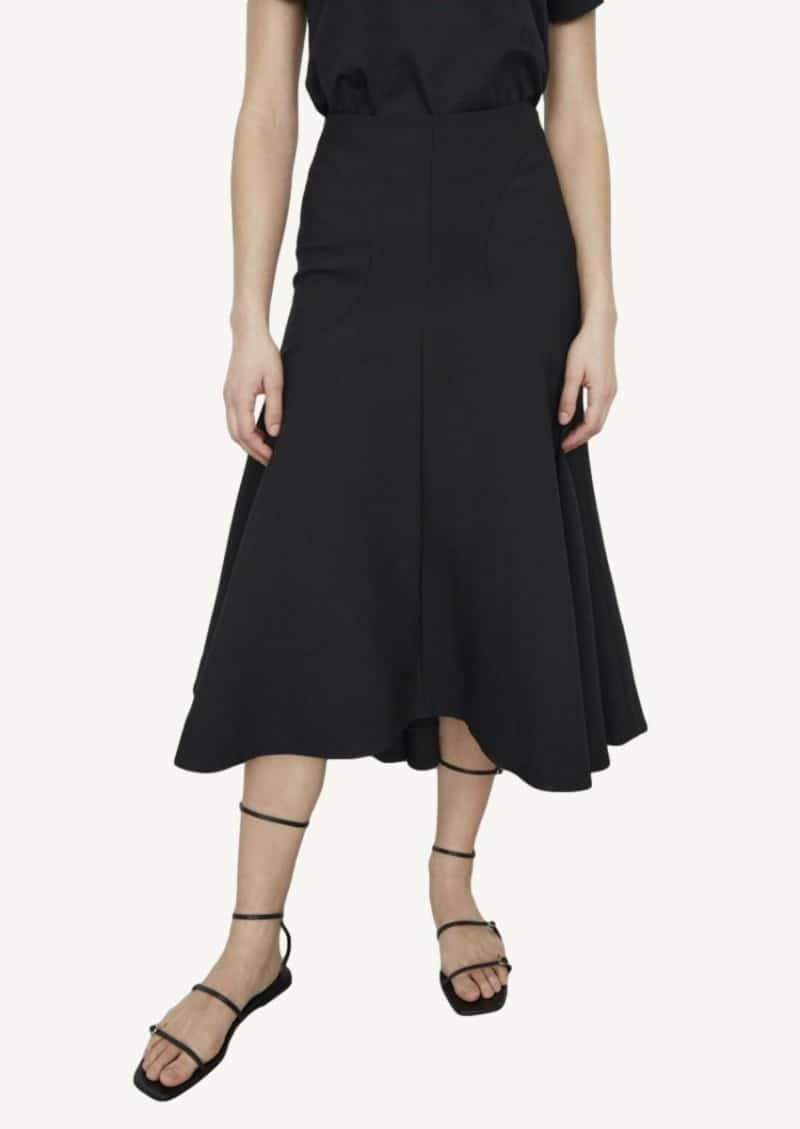 Black Mazille skirt