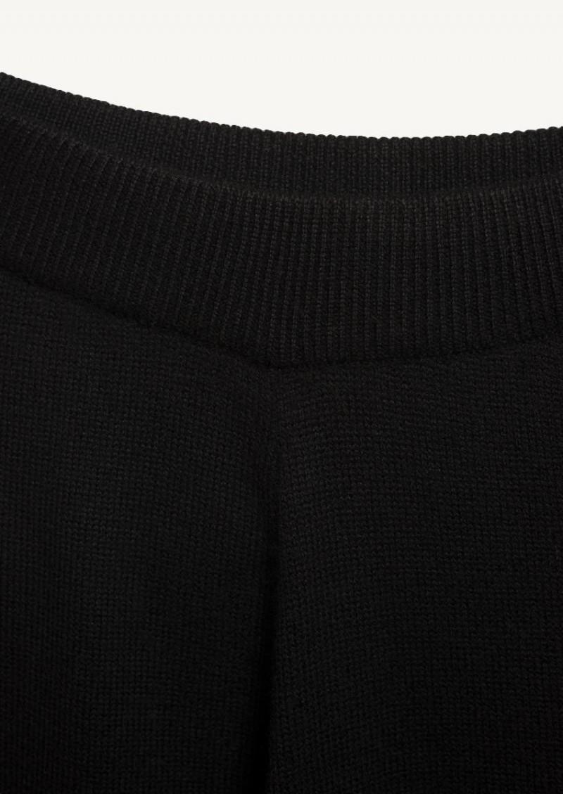 Pantalon patdroit noir (15496)