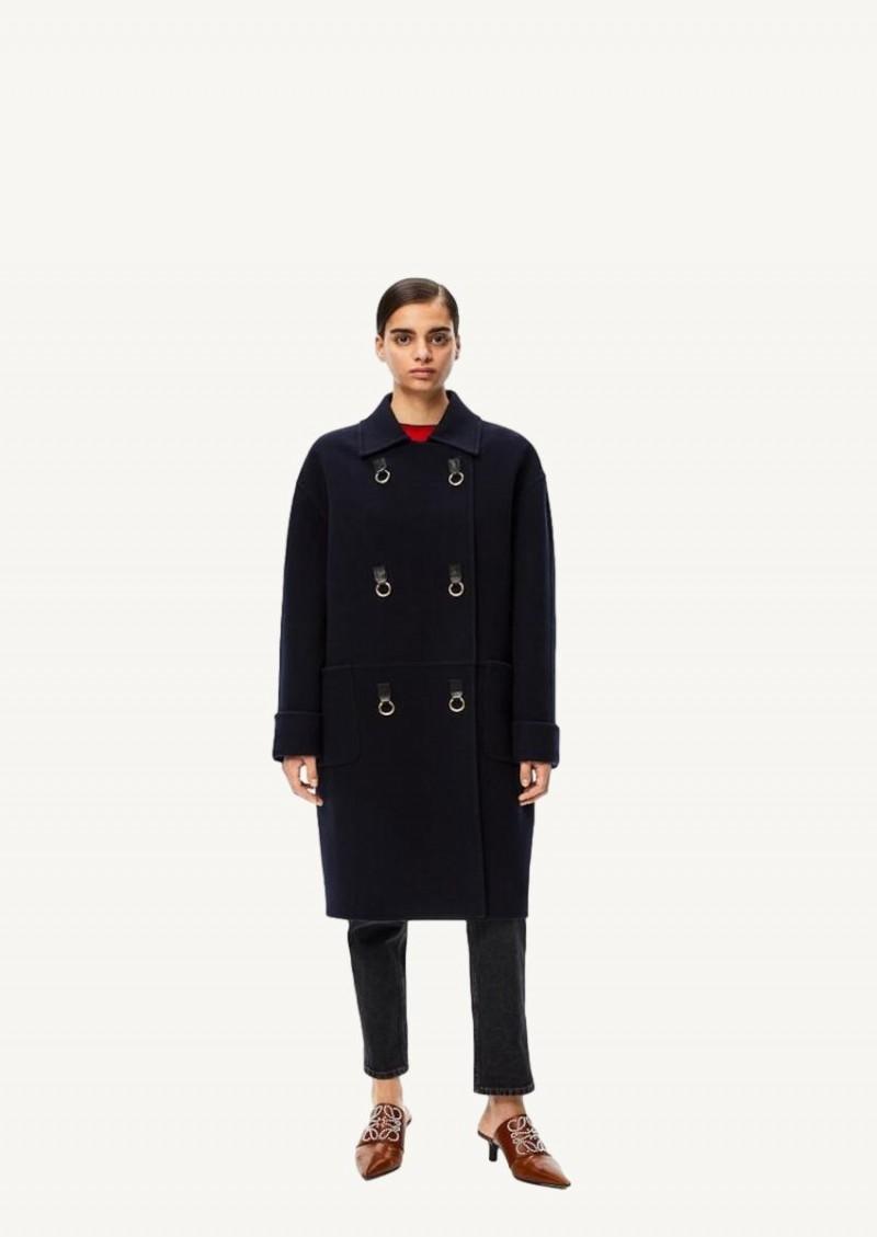 Navy oversize coat