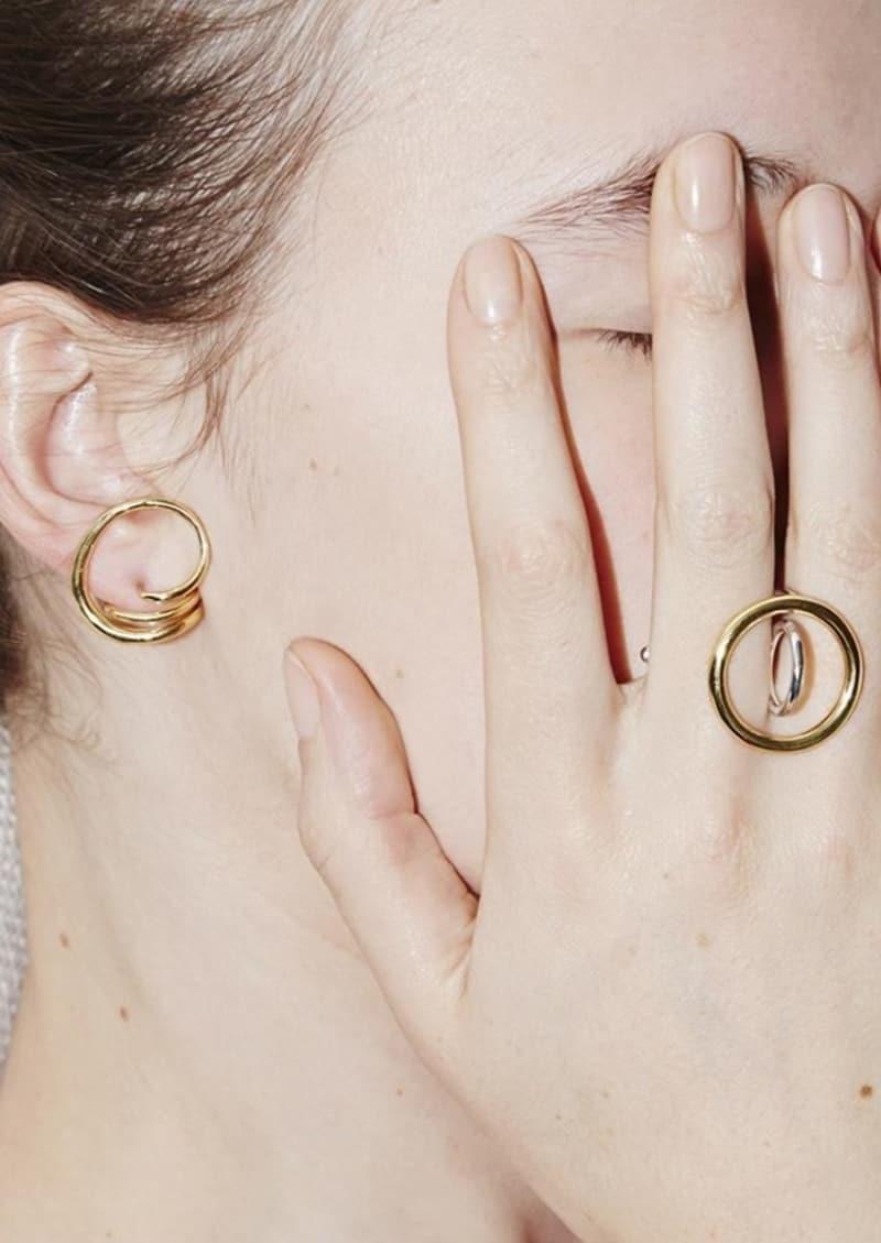 ROUND TRIP earrings
