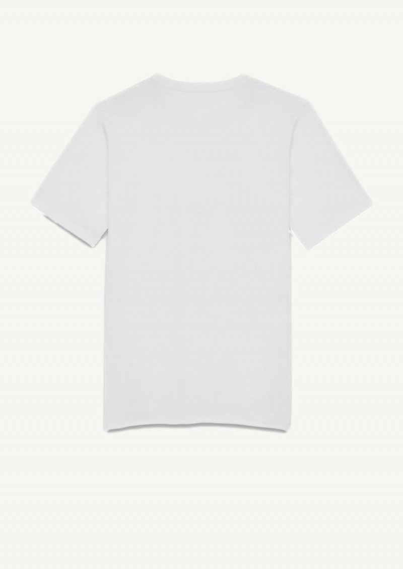 White Saint Laurent Rive Gauche t-shirt