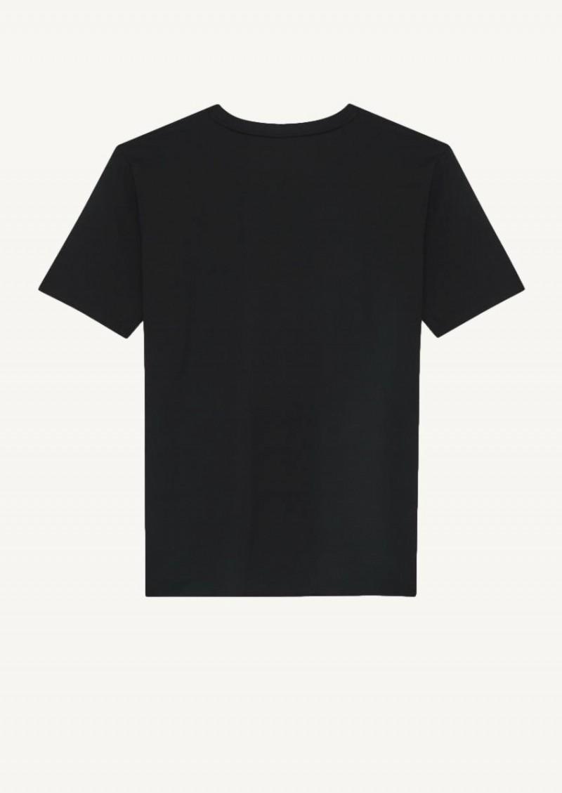 Black Saint Laurent Rive Gauche t-shirt
