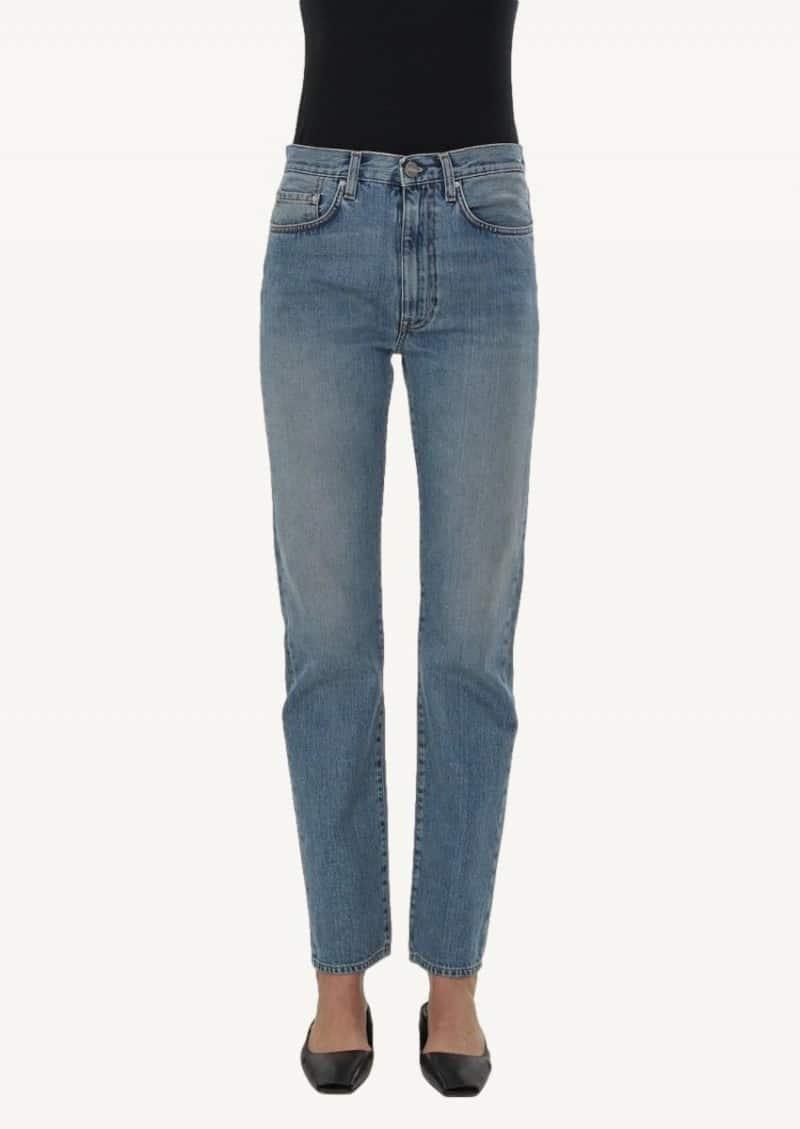 Vintage wash regular fit jeans