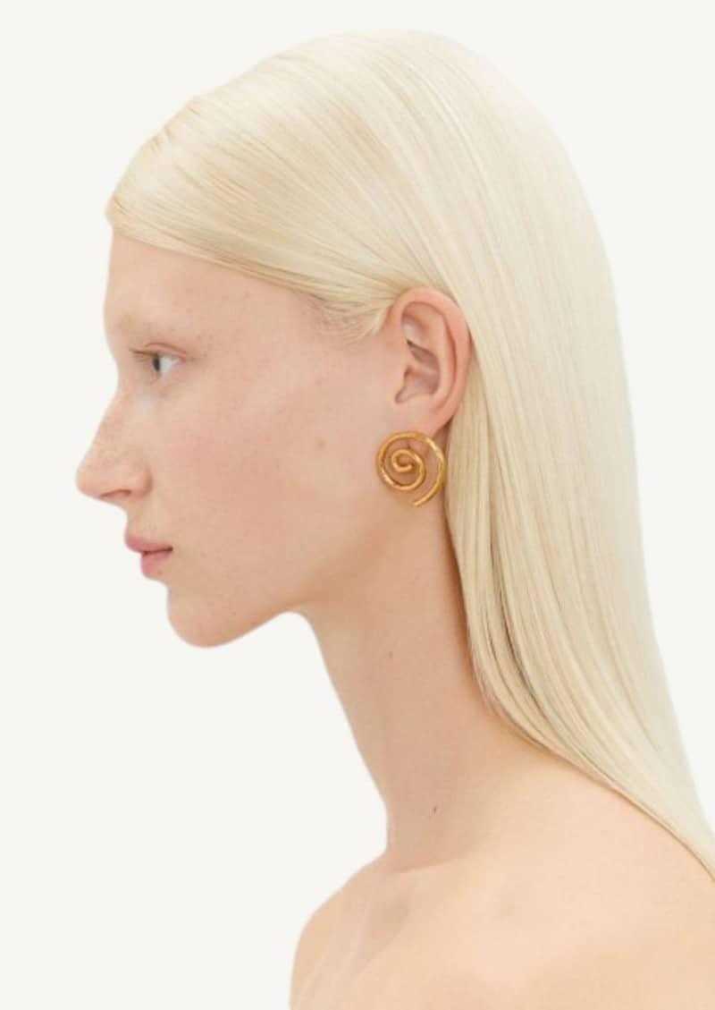 Boucles d'oreilles la Spirale