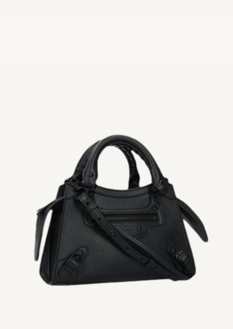 Black mini Neo Classic City bag