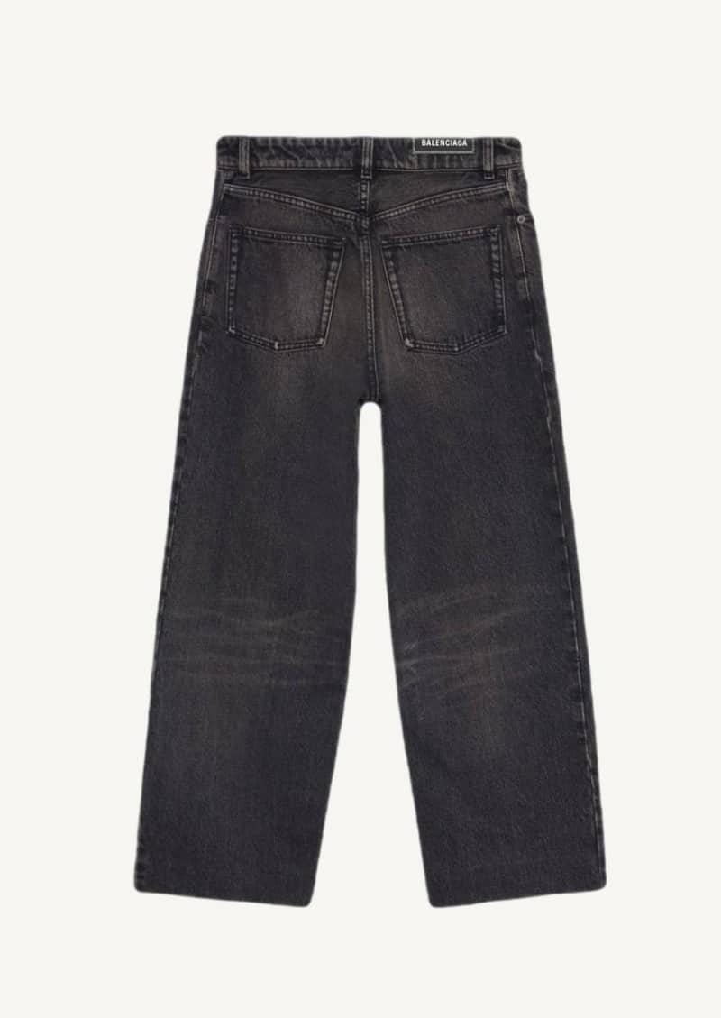 Vintage black cropped pants