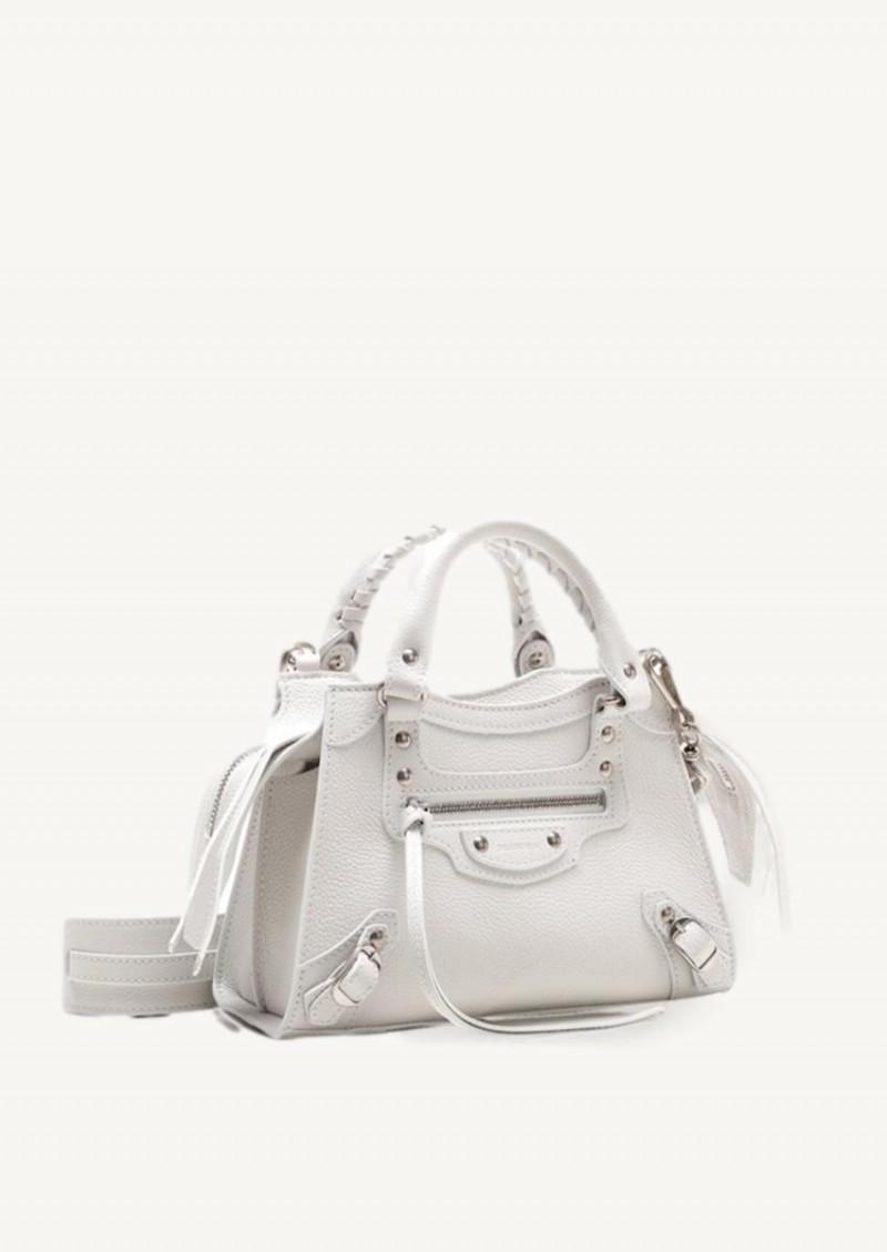 White mini Neo Classic City bag