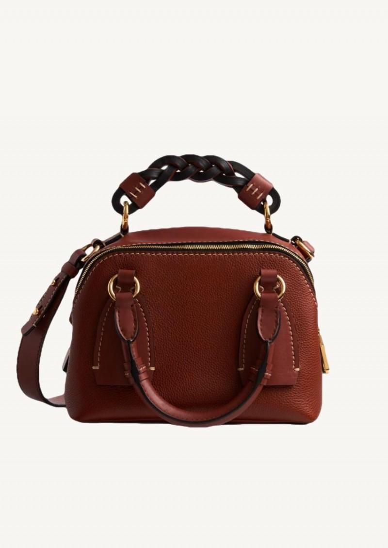 Petit sac de jour Daria sepia brown