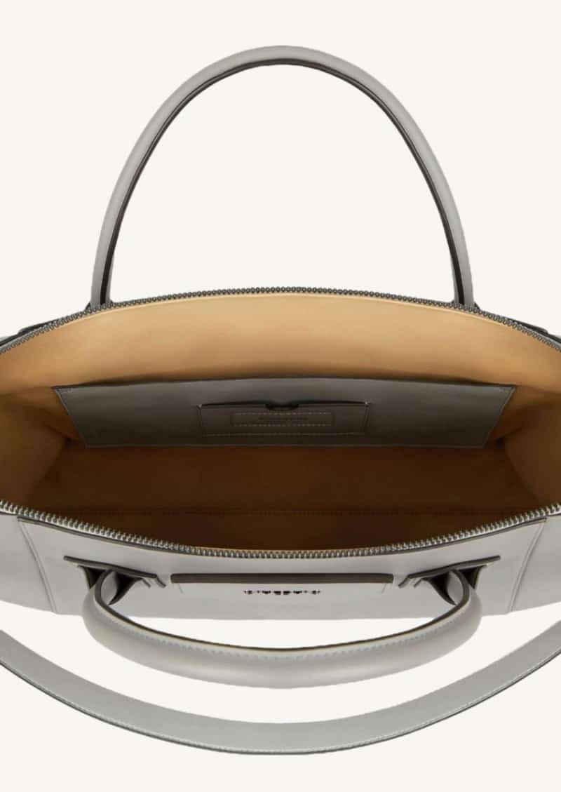 Grey pearl soft medium Antigona bag