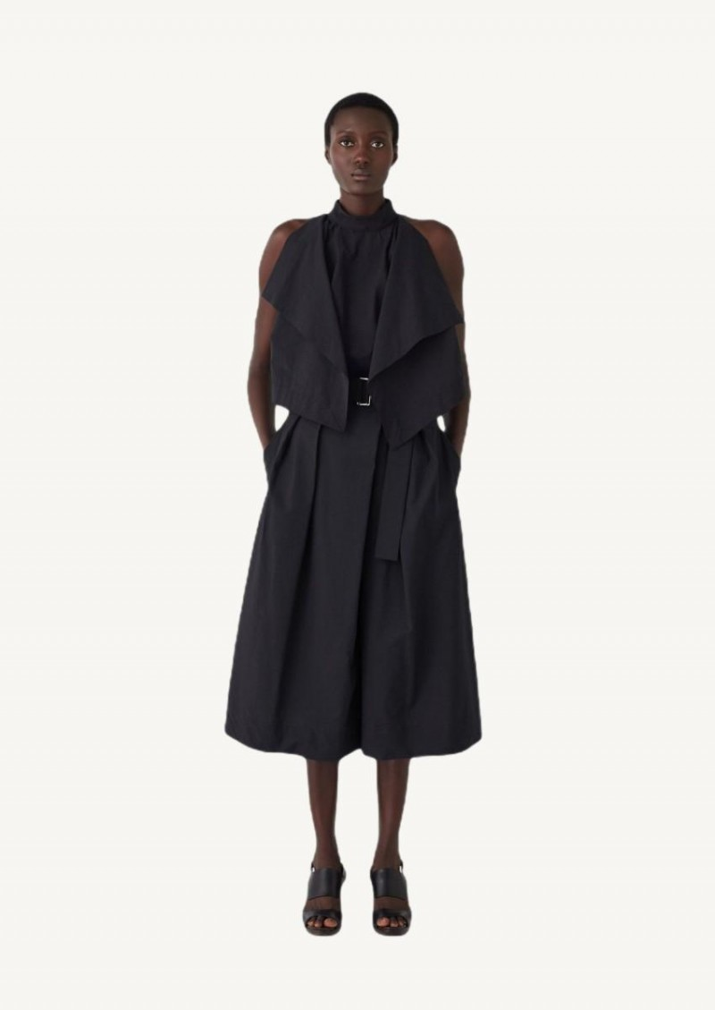 Bermuda asymétrique noir