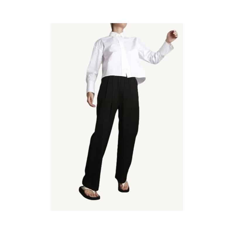 Black elastic Takaroa pants