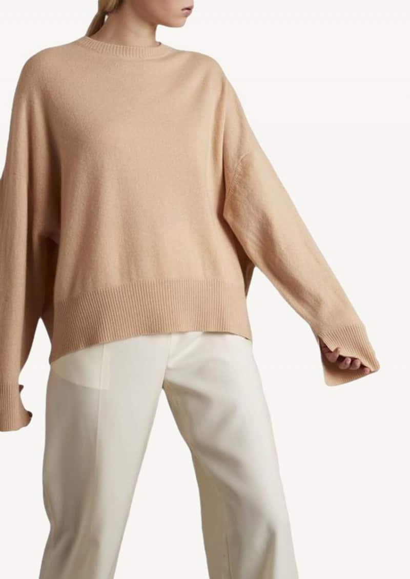 Beige Anaa cashmere sweater