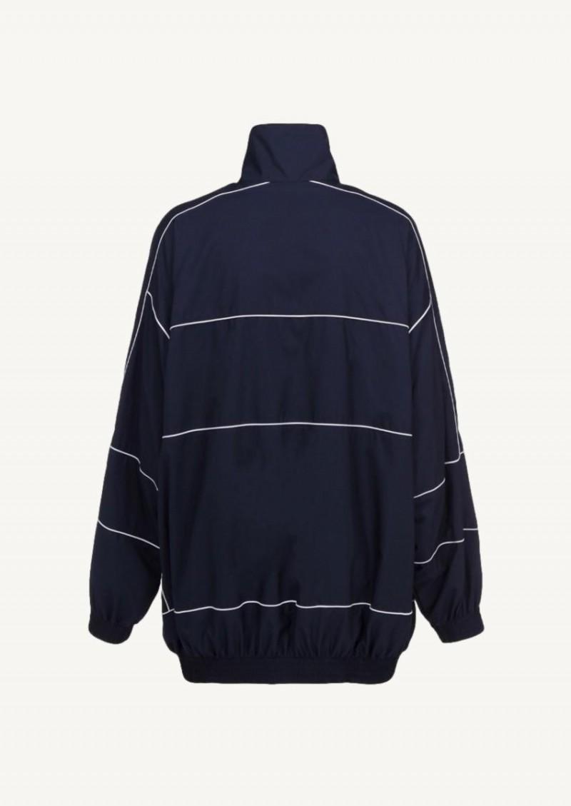 Blouson zip-up bleu marine