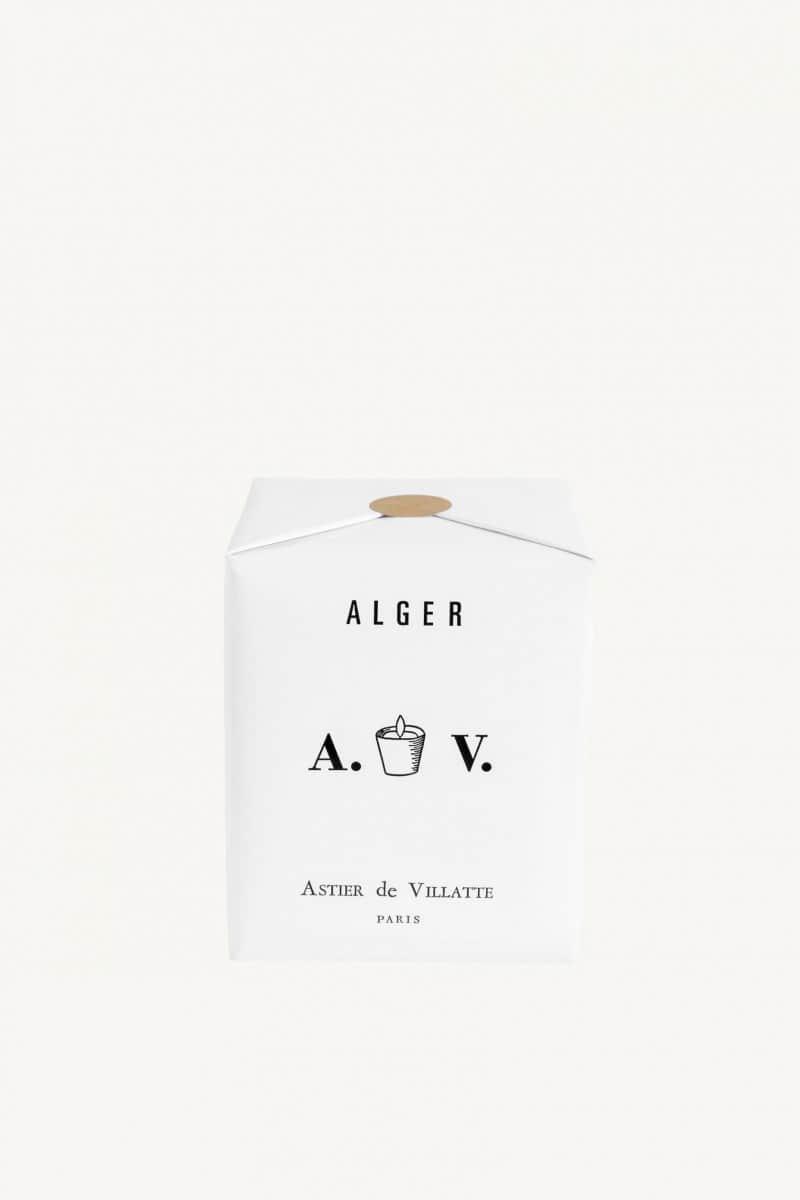 Bougie parfumée Alger en verre