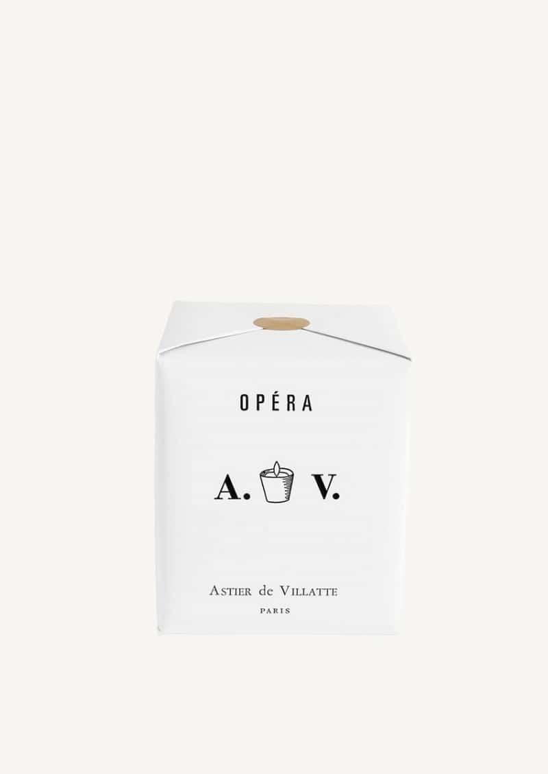 Bougie parfumée Opéra en verre