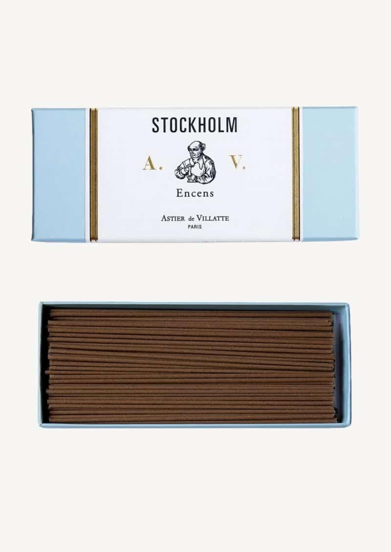 Encens Stockholm à 125 batonnets