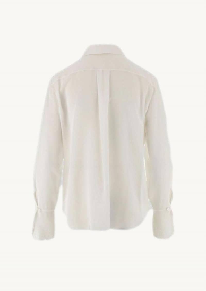 Iconic milk silk shirt