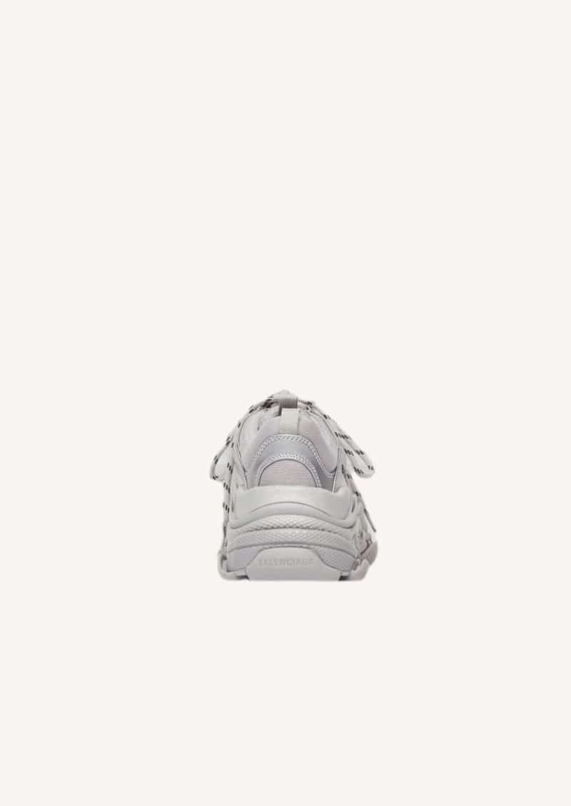 Silver mettalic Triple S sneaker