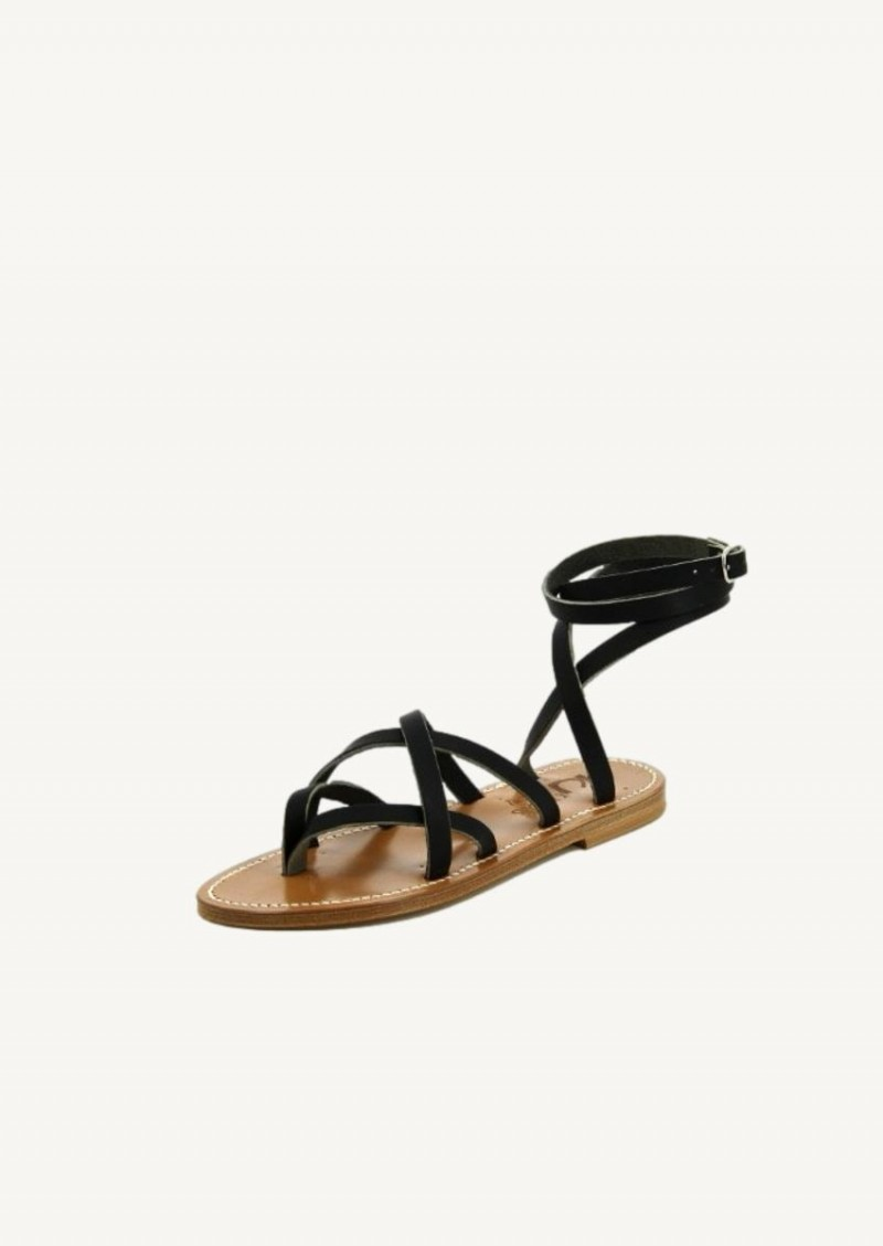 Pul black Zenobie sandals