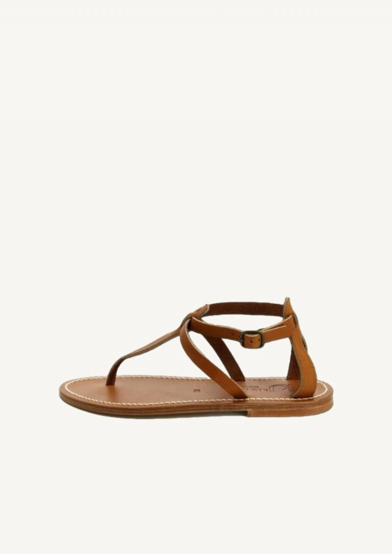 Pul naturel Buffon leather sandals