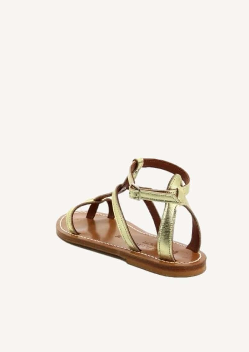 Lame platine Antioche sandals