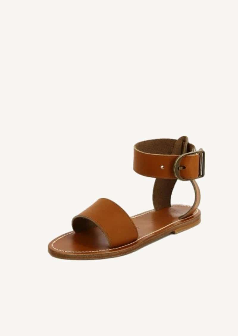 Sandales Carbet cuir pul naturel
