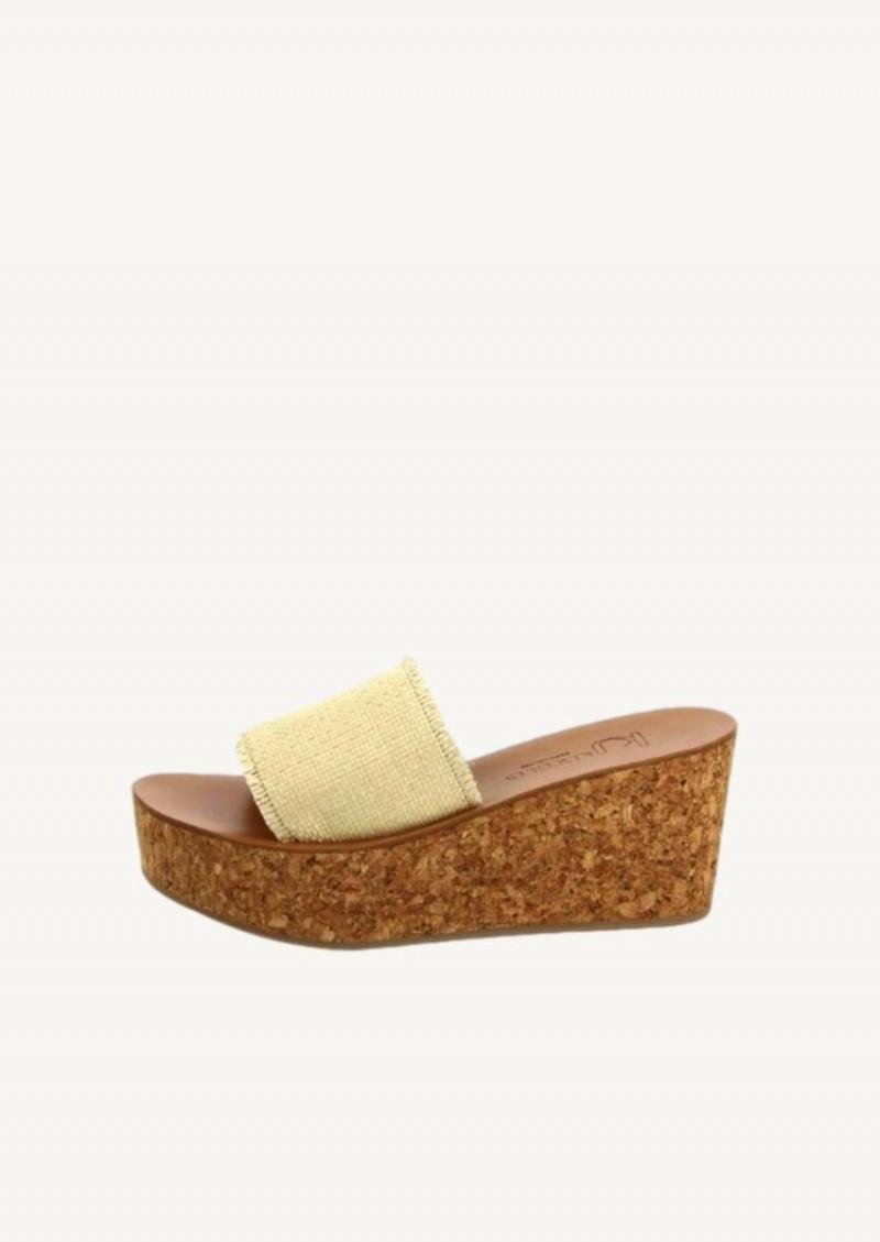Raffia Gigaro sandals