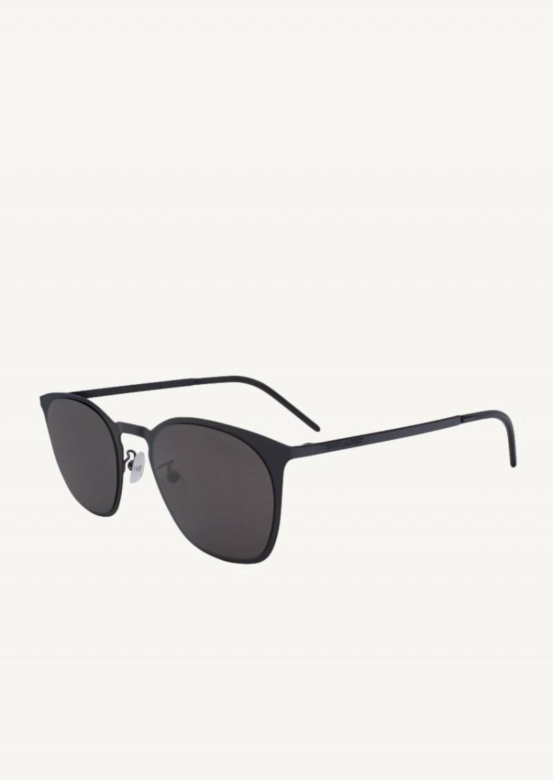 Black sl 28 slim metal glasses