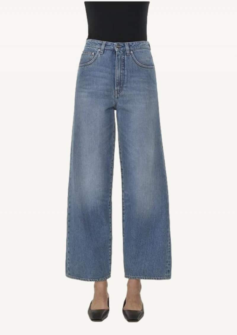 Jean flair washed blue