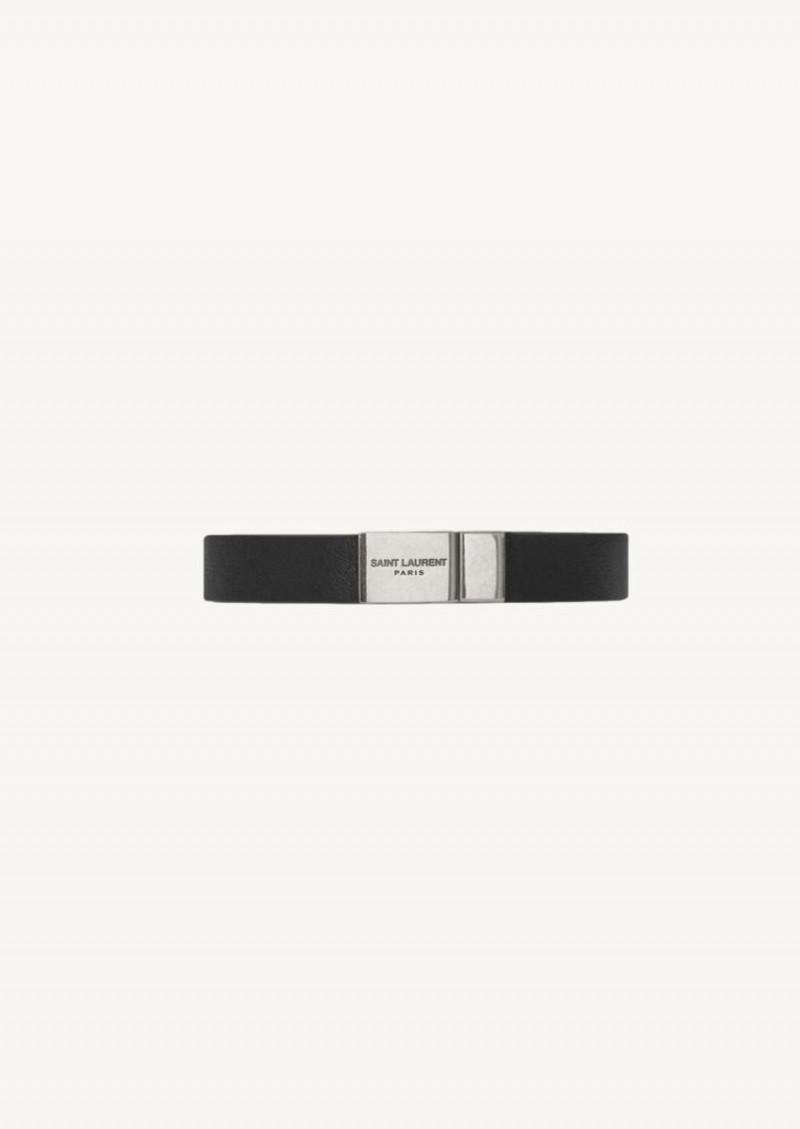 Opyum bracelet noir et argenté