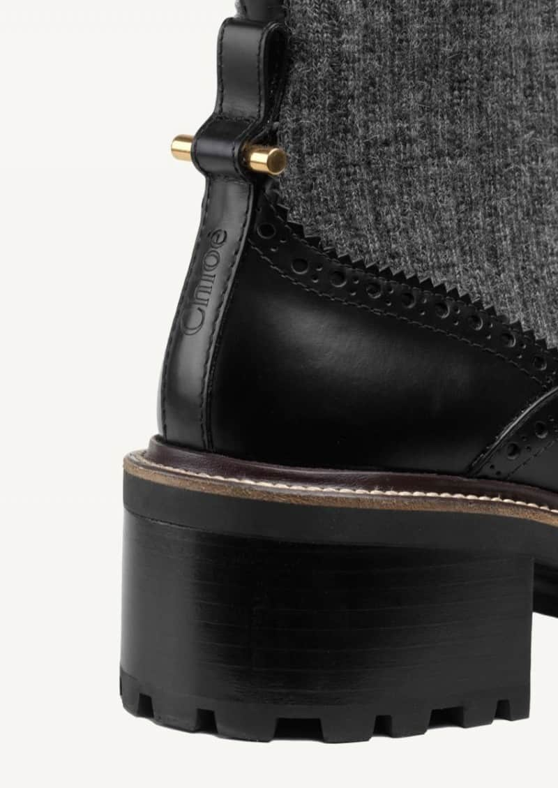 Black Franne ankle boots