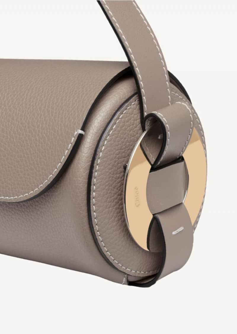 Motty grey mini Darryl shoulder bag