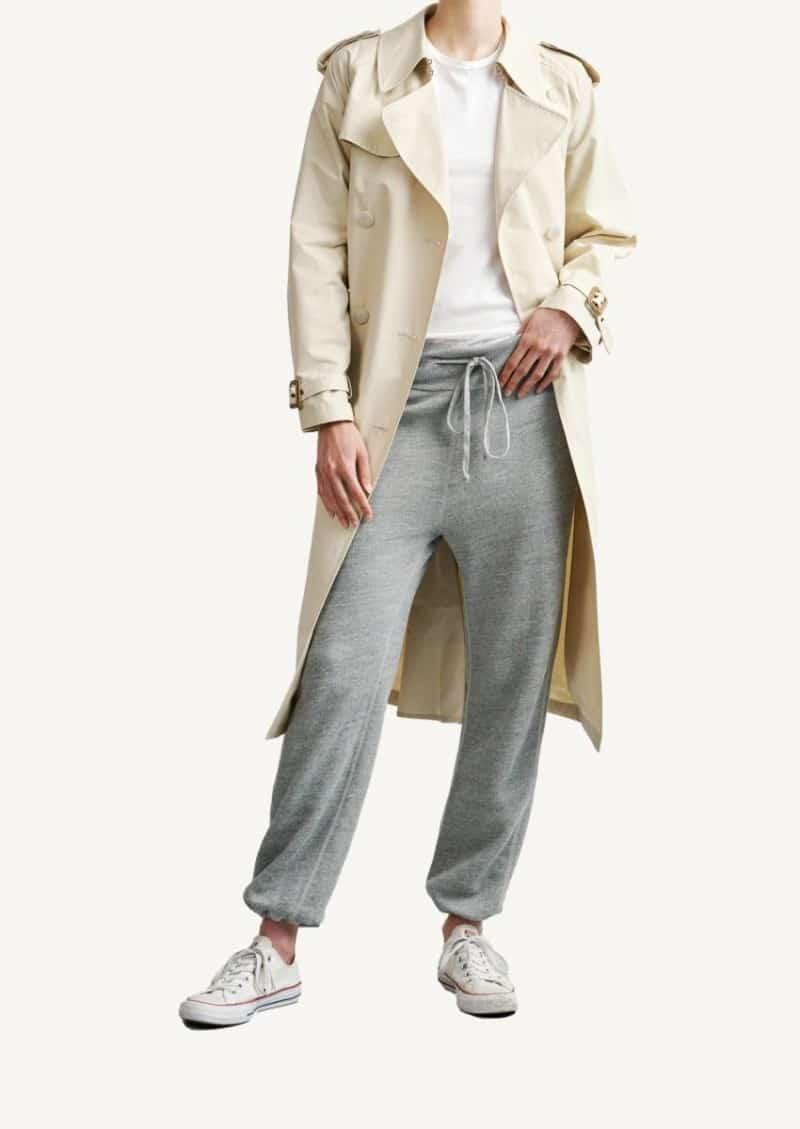 Heather grey sweatpants