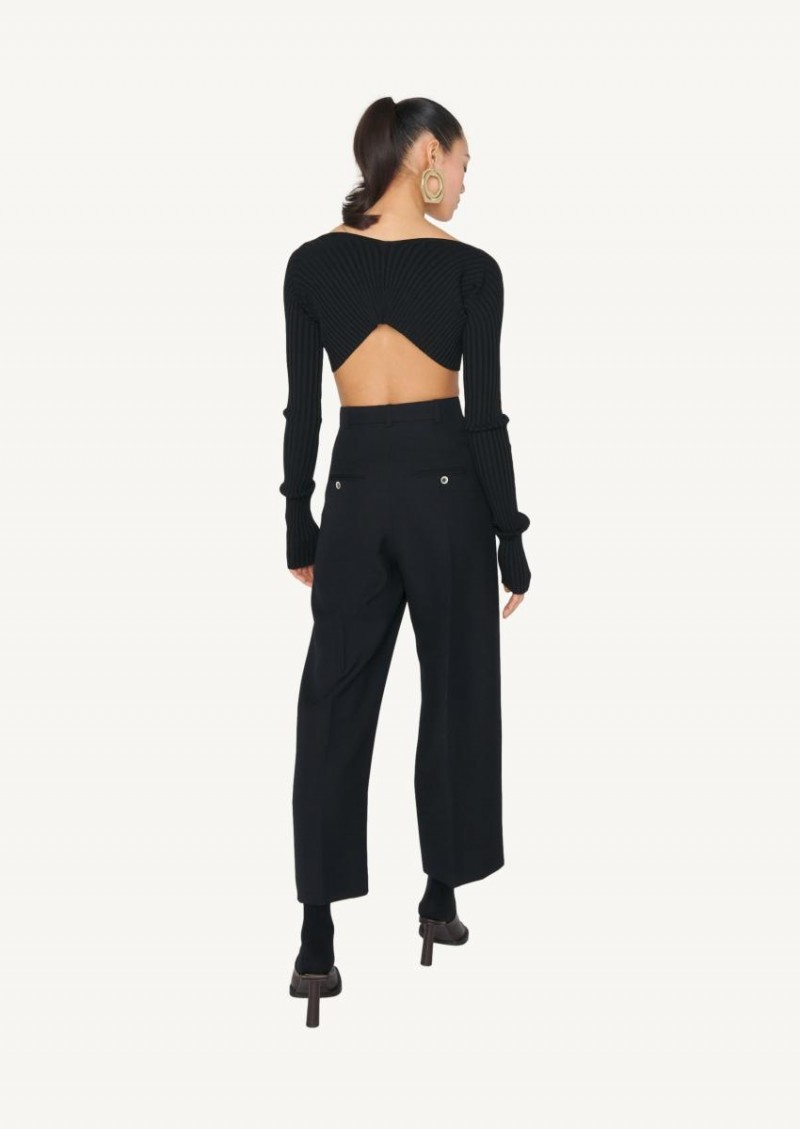Black Le pantalon Santon