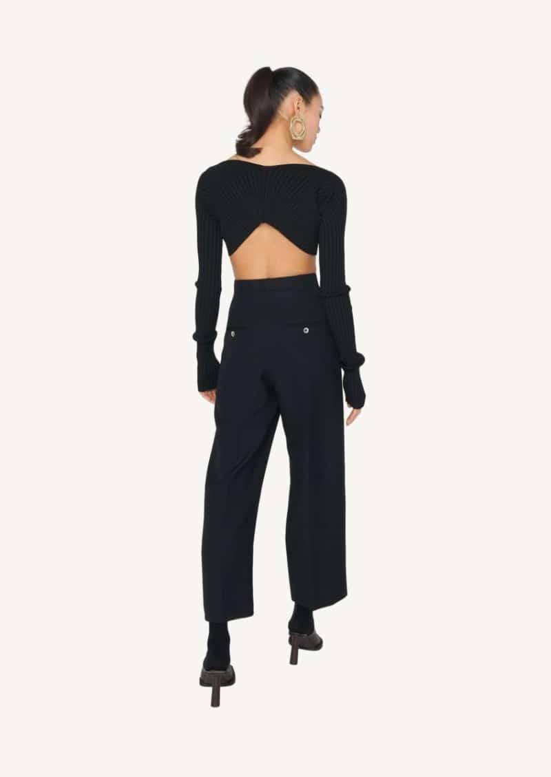 Le pantalon Santon noir