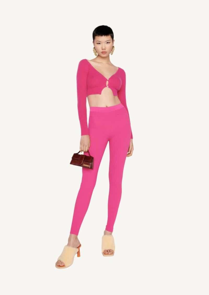 Pink Le legging Arancia