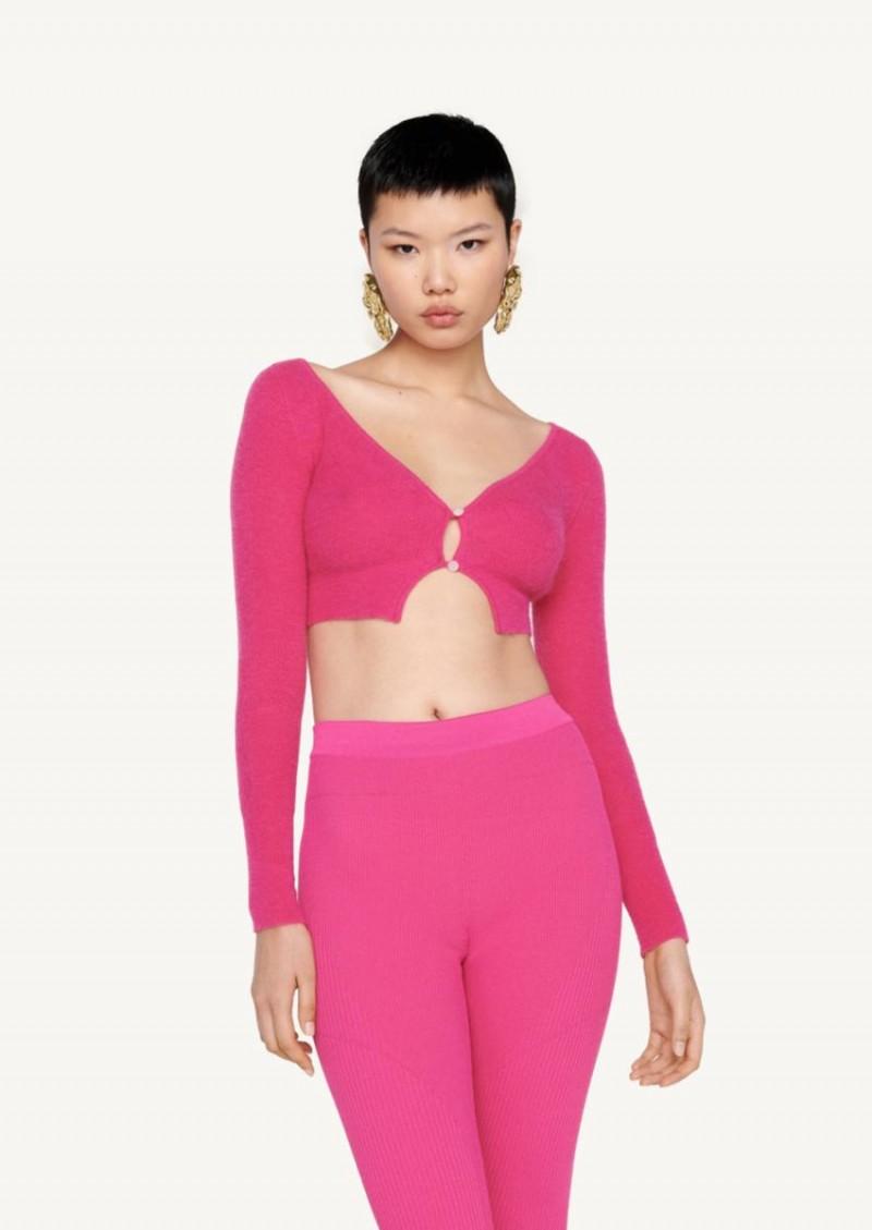 Pink Le cardigan Alzou