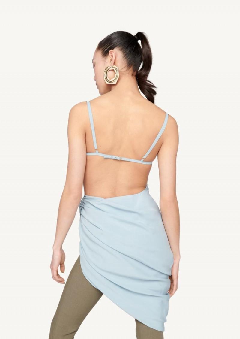 La robe Saudade bleu clair