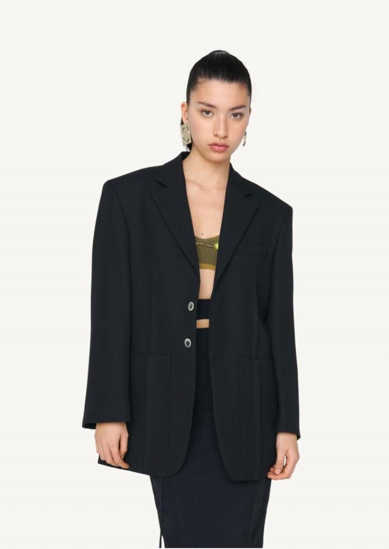 Black La veste d'homme
