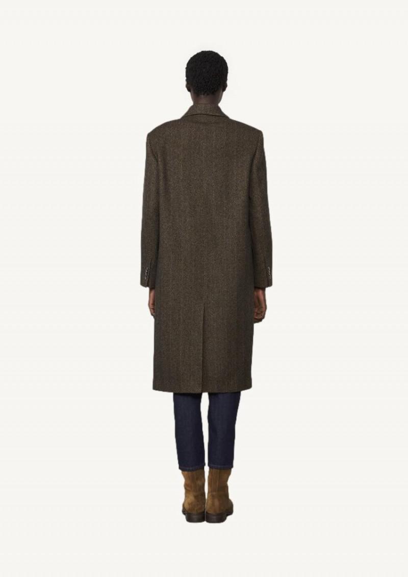 Manteau Amber marron clair
