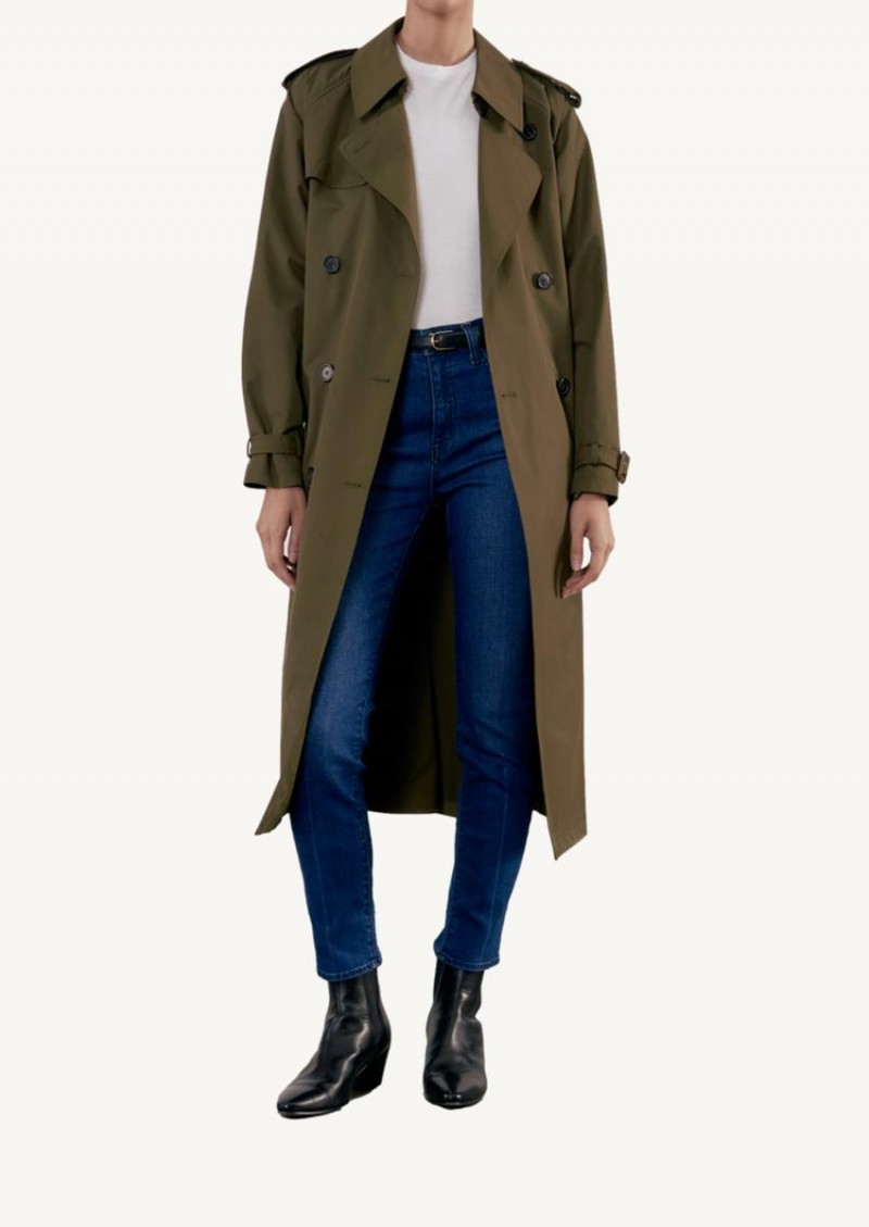 Olive Tanner trench coat