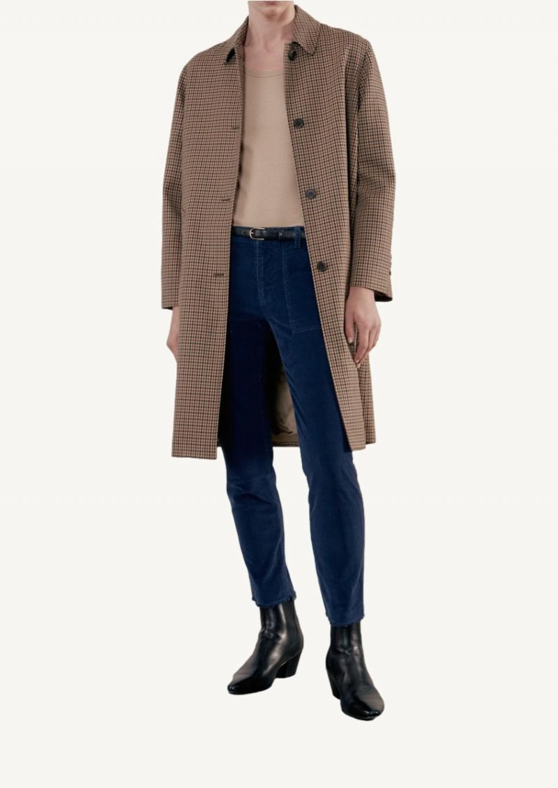 Beige Watson Duster coat