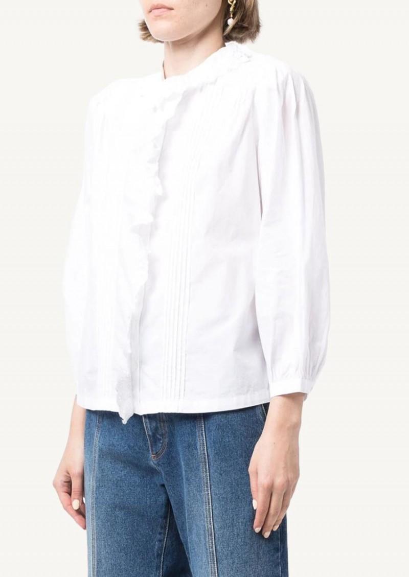 Chemise Ashlyn blanche