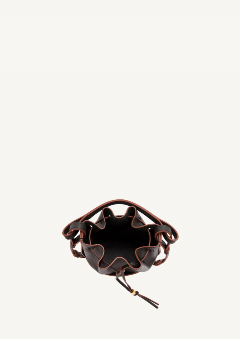 Black mini balloon bag