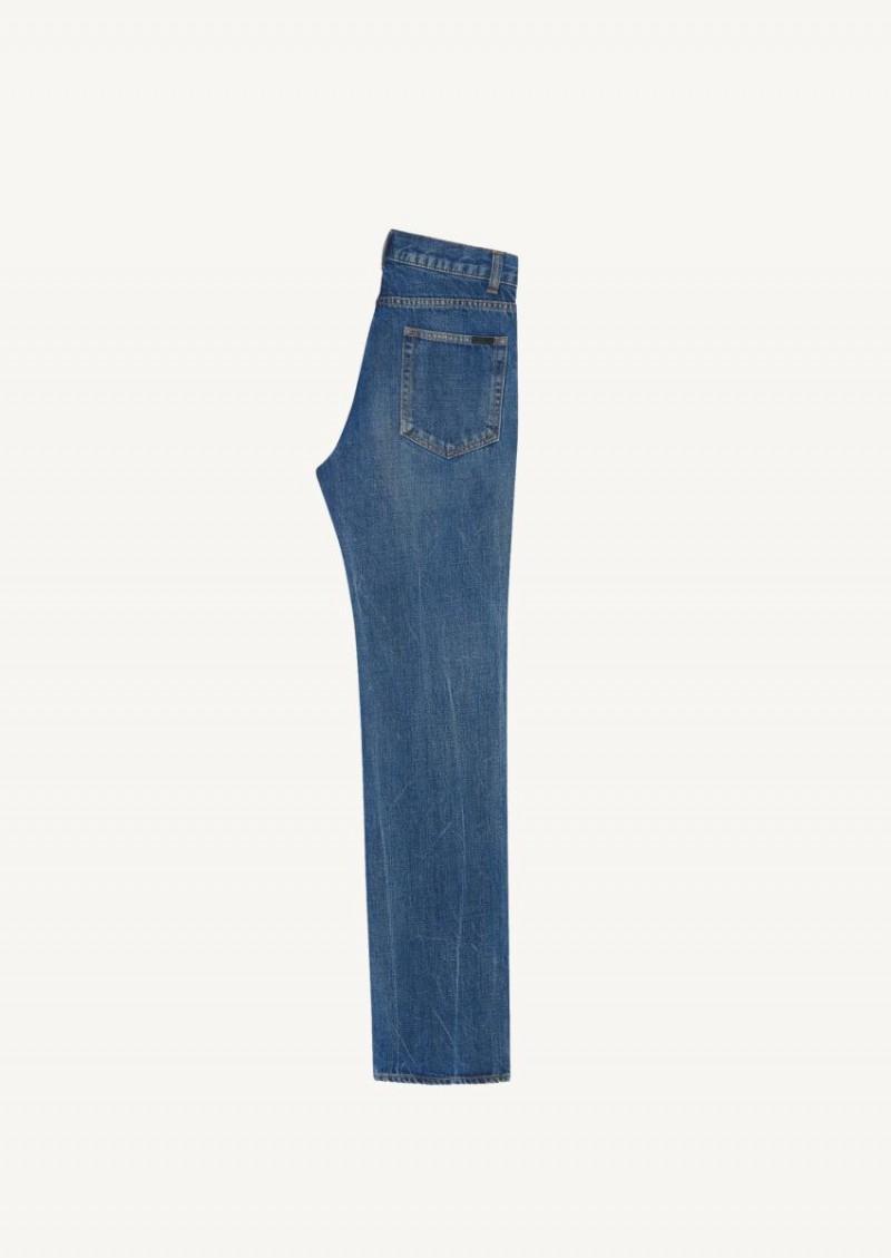Jean straight 60'S en denim authentic dark blue