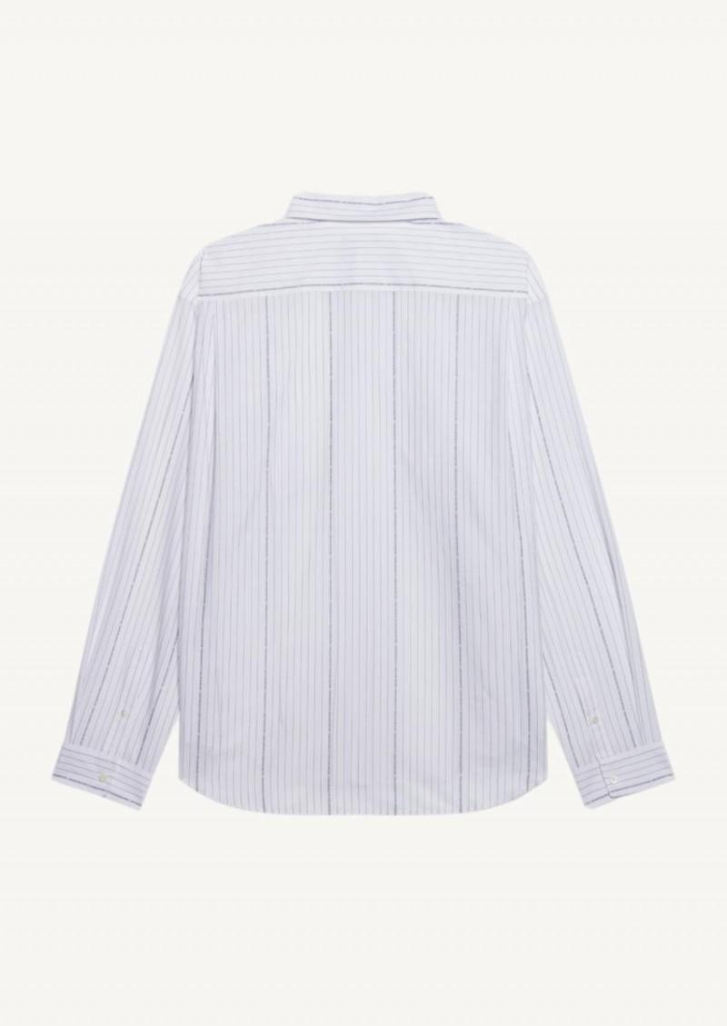 Large fit white shirt